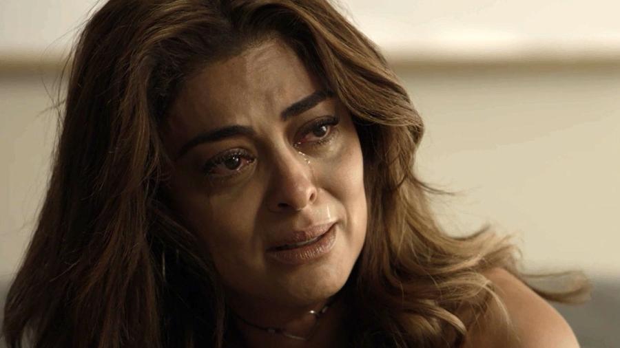 """Bibi (Juliana Paes) descobre que está sem dinheiro em """"A Força do Querer"""" - Reprodução/GShow"""