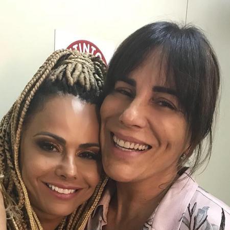 Viviane Araújo e Glória Pires - Reprodução/Instagram