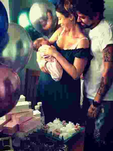 Juliana Didone e a família - Reprodução/Instagram