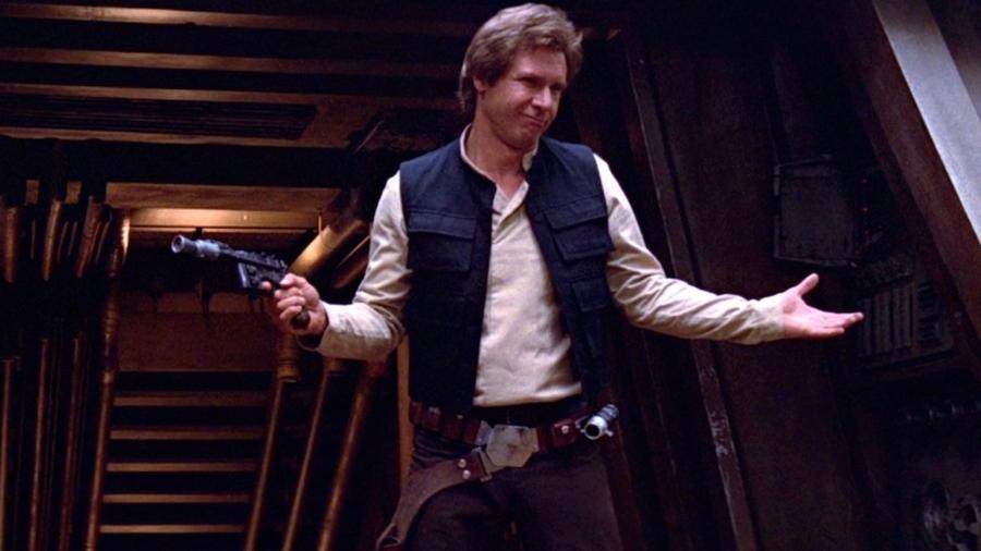 Harrison Ford como Han Solo - Reprodução