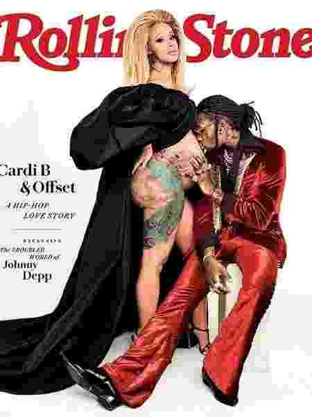 Cardi B Rolling Stone - Reprodução/Instagram - Reprodução/Instagram