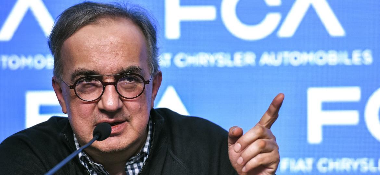 Sergio Marchionne, agora ex-diretor-executivo da FCA - Piero Cruciatti/AFP
