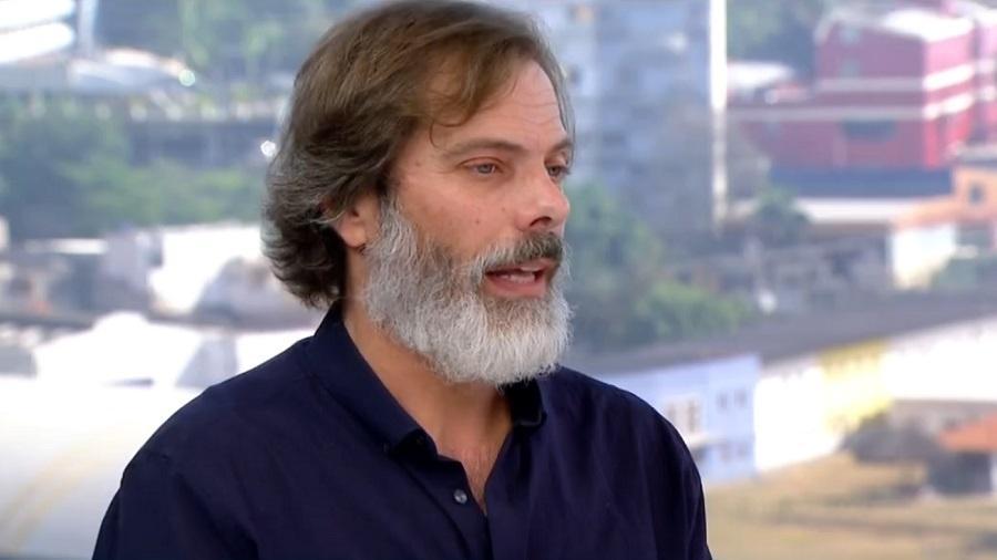 O ator Luiz Henrique Nogueira - Reprodução/TV Globo