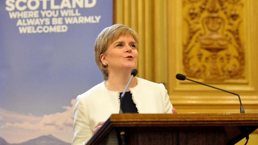 A primeira ministra da Escócia, Nicola Sturgeon - Getty Images