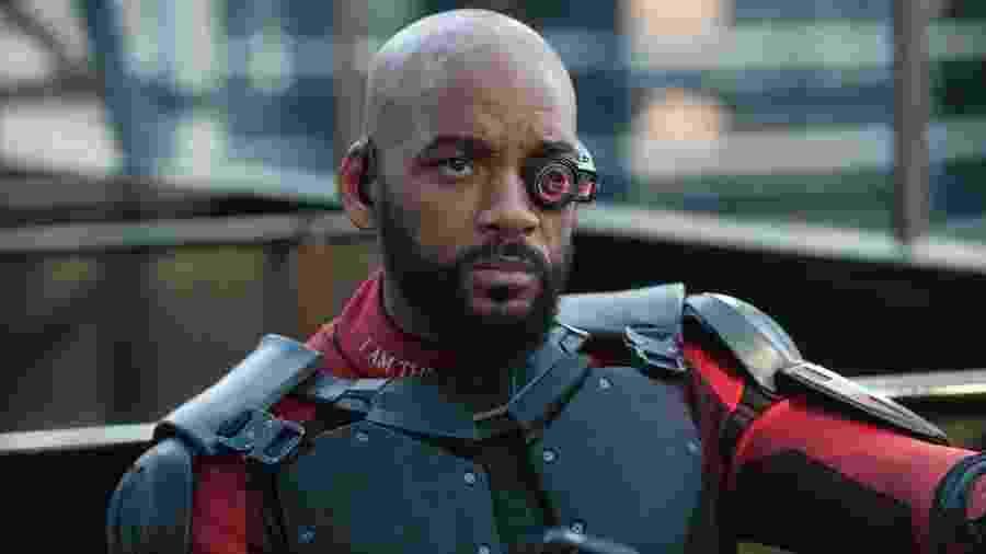 """Will Smith como Pistoleiro, de """"Esquadrão Suicida"""" - Reprodução"""
