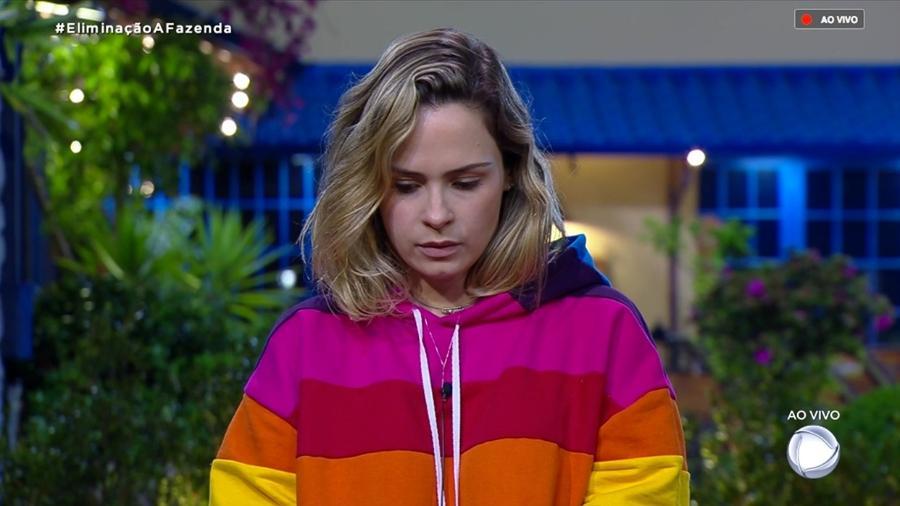 Ana Paula Renault conversa com Marcos Mion antes de eliminação - Reprodução/RecordTV