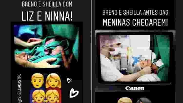 Scheilla e filhas - Reprodução/Instagram - Reprodução/Instagram