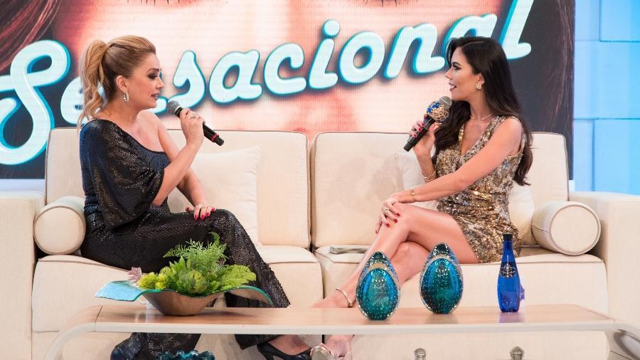 """Nani Venâncio participa do """"Sensacional"""" com Daniela Albuquerque - Andrea Dallevo/ RedeTV!"""