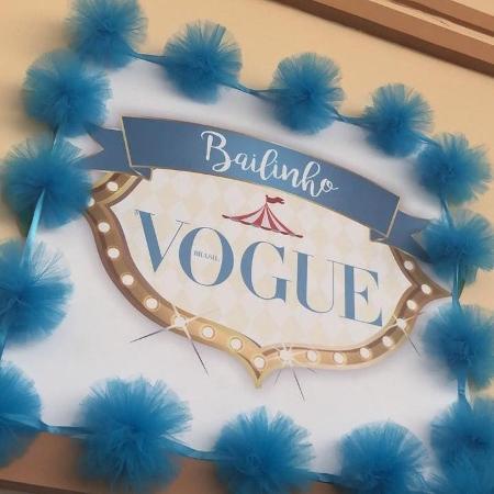 Bailinho Vogue - Reprodução