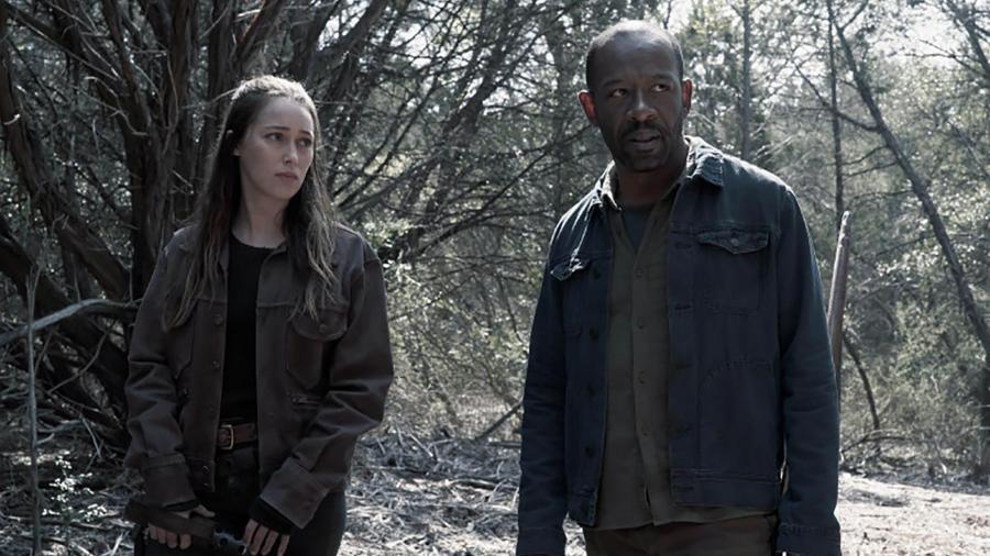 Os personagens de Alicia e Morgan Jones em Fear of The Walking Dead - Divulgação