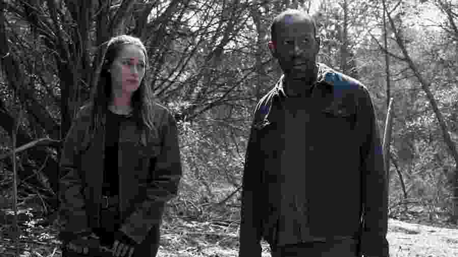 Os personagens de Alicia e Morgan Jones em Fear of Walking Dead - Divulgação
