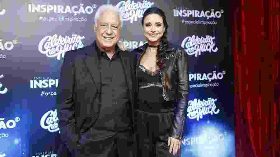 Antonio Fagundes e Alexandra Martins - Fabiano Battaglin/TV Globo