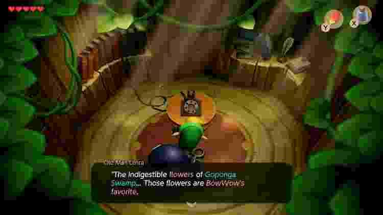 Zelda Link 1 - Reprodução - Reprodução