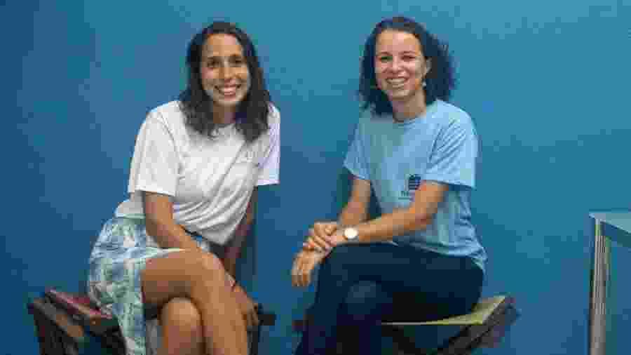 Mariana Machado e Ana Paula Rios, do projeto Da Rua Para Você - Lorena Mossa/Divulgação