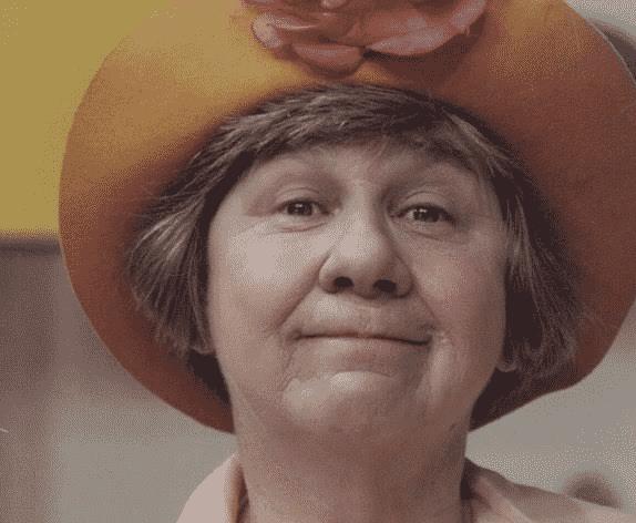 A atriz Zilda Cardoso como Dona Catifunda - Reprodução
