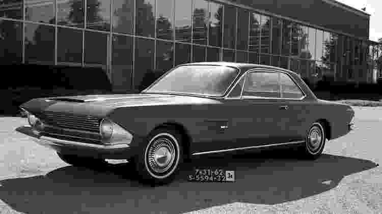 Estudo de cupê de grande porte, o Allegro foi descartado pela Ford - Divulgação
