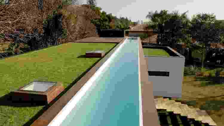 Telhado verde é um dos produtos oferecidos pela empresa - Divulgação - Divulgação