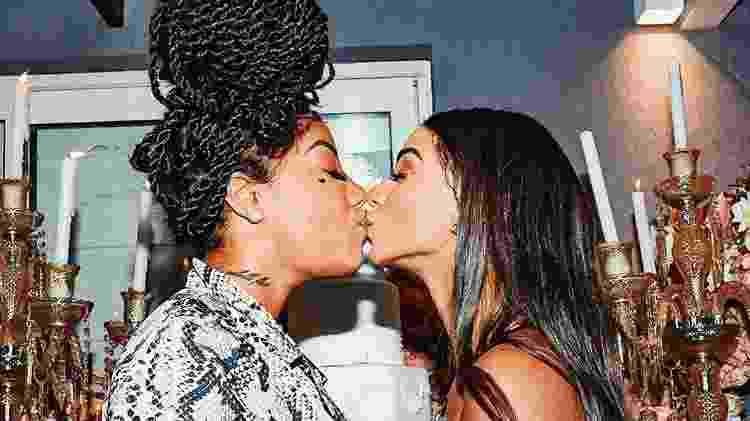 Ludmilla e Brunna Gonçalves no dia do casamento delas - Reprodução/ Instagram