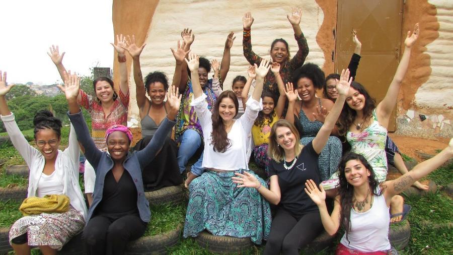 Formado por doulas, o Mãe na Roda dá apoio e promove rodas de conversa para gestantes no Campo Limpo, em SP - Divulgação/MãeNaRoda