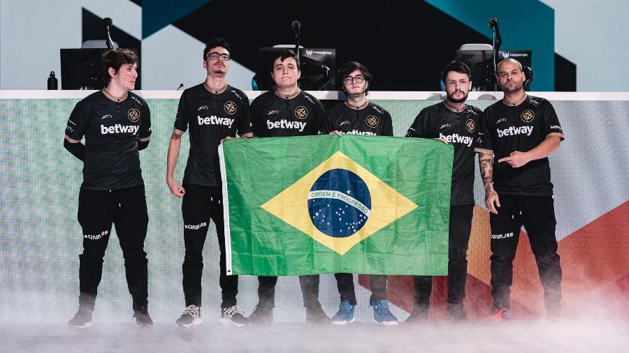 Brasileiros da Ninjas in Pyjamas durante o Invitational 2020 - Leo Sang/Ubisoft