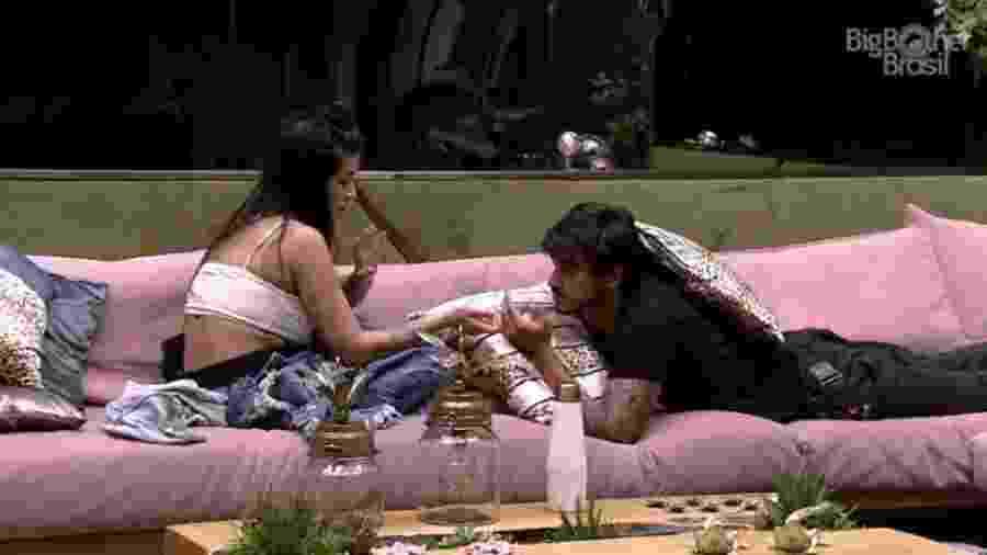 BBB 20: Bianca e Guilherme - Reprodução/Globoplay
