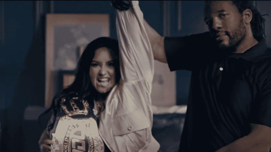 Cena do novo clipe de Demi Lovato - Reprodução/YouTube
