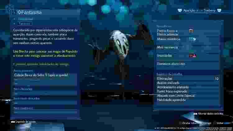 FFVII Fantasma - Reprodução - Reprodução