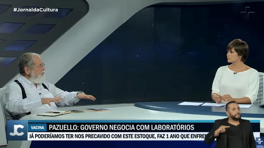 """Edição de 06/01/2021 do """"Jornal da Cultura"""" - Reprodução / TV Cultura"""