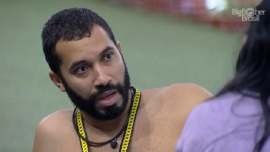 BBB 21: Gilberto diz que esperava que Rodolffo saísse - Reprodução/Globoplay