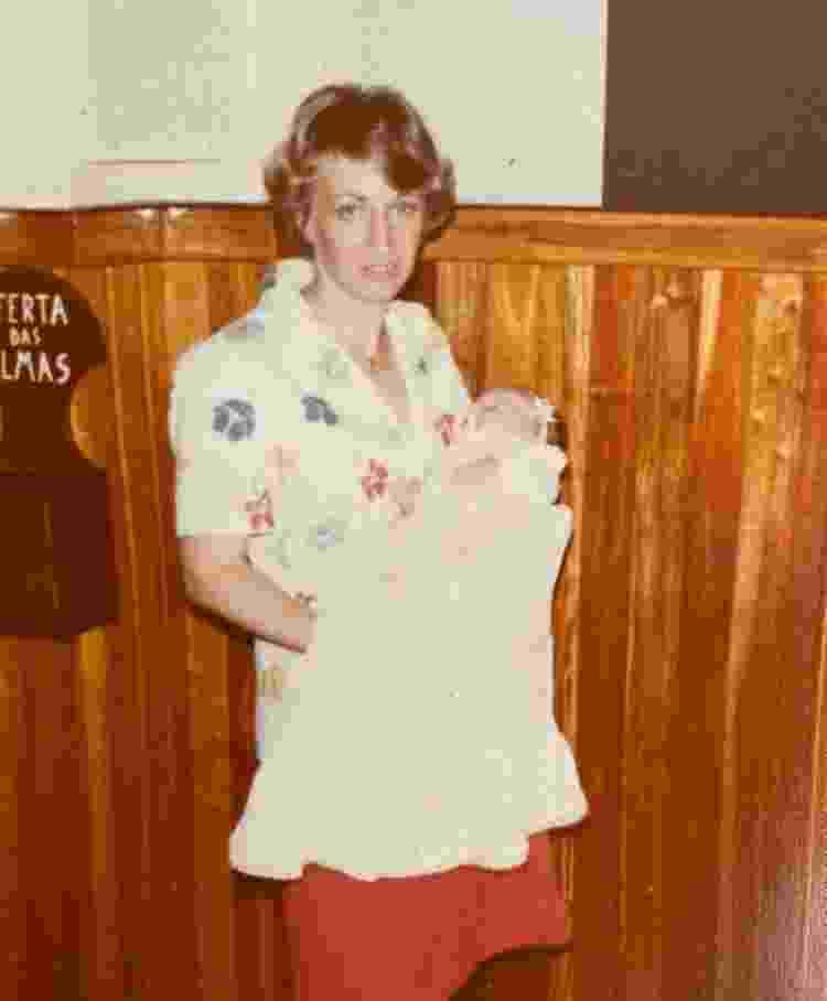 Batizado da Marina (30/01/1982) - Arquivo Pessoal - Arquivo Pessoal
