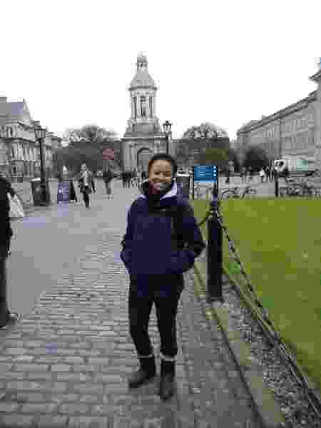 Sarah Costa, em Dublin - Arquivo pessoal - Arquivo pessoal