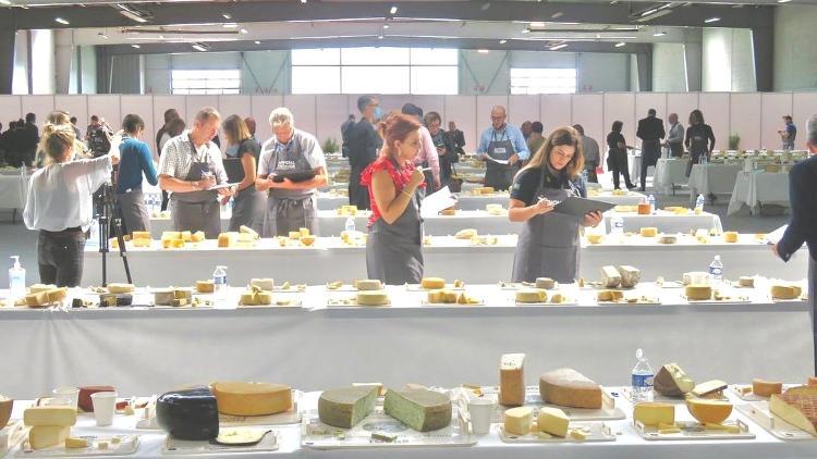 No concurso, 940 queijos foram avaliados - Reprodução - Reprodução