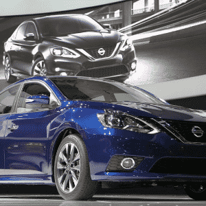 Nissan Sentra 2016 - David McNew/Getty Images/AFP
