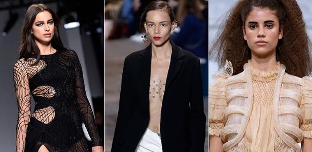 Versace, Dior e Schiaparelli desfilam na Semana de Moda de Paris - AFP