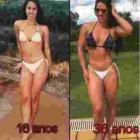 Graciele Lacerda mostra antes e depois - Reprodução/Instagram/Gracielelacerdaoficial