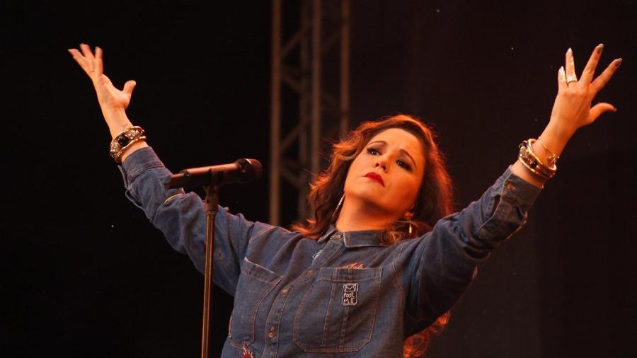 A cantora Maria Rita - Rômulo Dawid/Fotoarena/Estadão Conteúdo