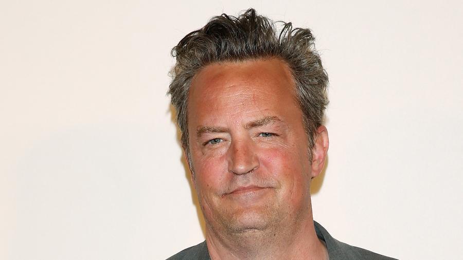 """O ator Matthew Perry, o eterno Chandler de """"Friends"""", no Festival de Cinema de Tribeca em abril   - Carlo Allegri/Reuters"""