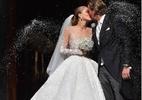 Herdeira de grife de joias se casa com vestido de mais de R$ 3 milhões - Reprodução/Instagram/Victoria Swarovski