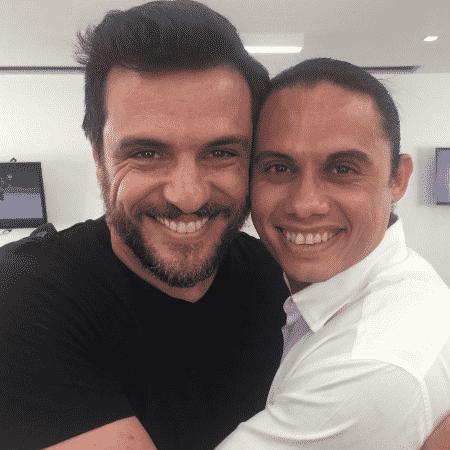 Rodrigo Lombardi e Silvero Pereira - Reprodução/Instagram/rodrigolombardi