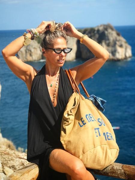 Adriane Galisteu na Ilha de Capri - Reprodução/Instagram