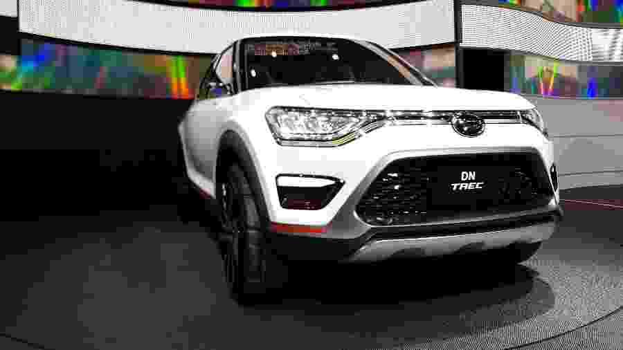 Daihatsu DN Trec servirá de base para o novo SUV compacto da Toyota fabricado no Brasil - Eugênio Augusto Brito/UOL