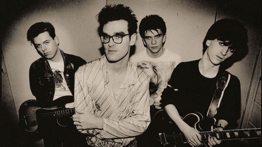 Andy Rourke, Morrissey, Mike Joyce e Johnny Marr na época áurea do Smiths - Divulgação