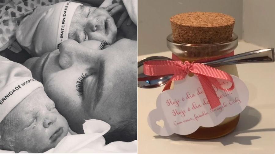 Lembrancinha de maternidade distribuída por Ivete Sangalo - Reprodução/Instagram