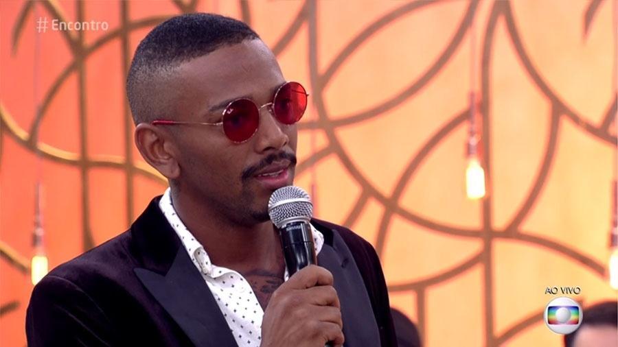 """No """"Encontro"""", Nego do Borel reclama da relação da namorada com a mãe - Reprodução/Globo"""