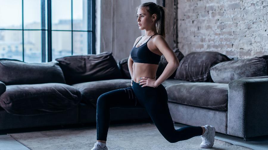 Exercícios com o peso do corpo ajudam a ganhar força e queimar calorias - Getty Images