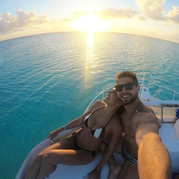 Mari Gonzalez e Jonas Sulzbach curtem viagem no México