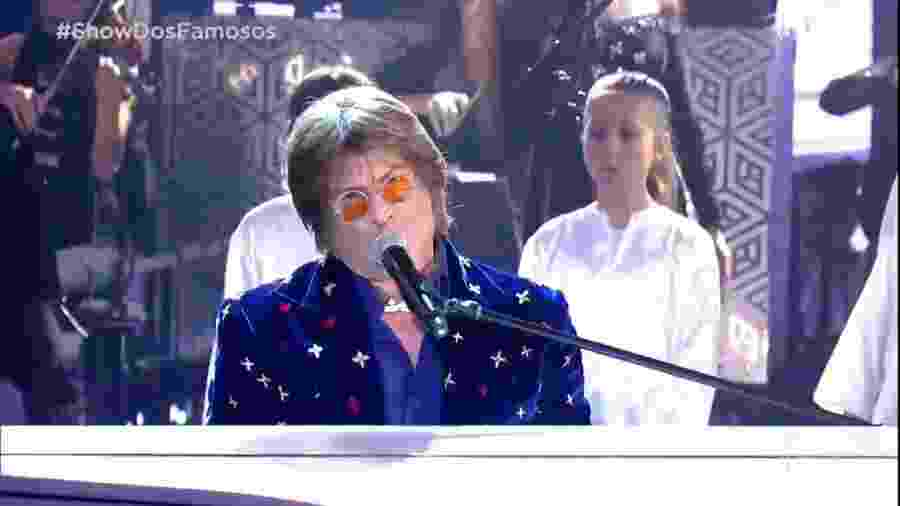 Paulo Ricardo mirou em John Lennon, mas os internautas viram Rita Lee - Reprodução