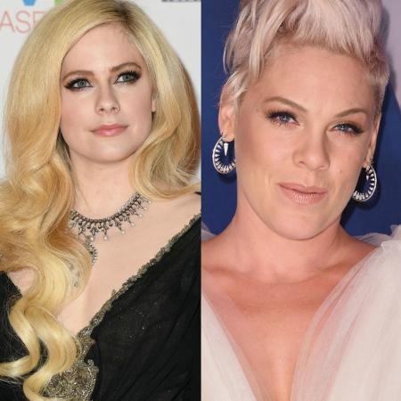 Avril Lavigne e Pink - Getty Images