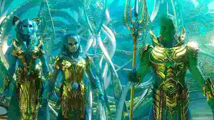 Djimon em Aquaman - Reprodução