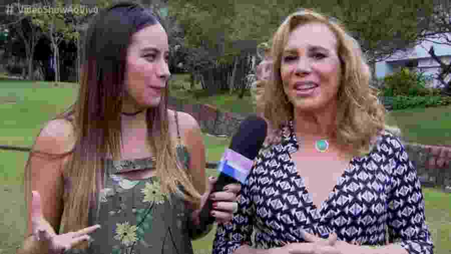 """Arlete Salles em entrevista ao """"Vídeo Show"""" - Reprodução/Globo"""